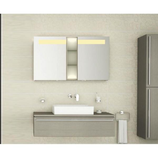 Bad spiegelschrank mit beleuchtung atlas bdb001 - Bad spiegelschrank mit beleuchtung ...