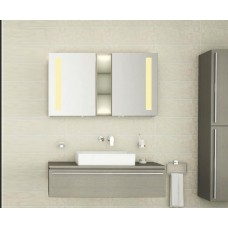 Bad Spiegelschrank mit Beleuchtung Zugie BDB005