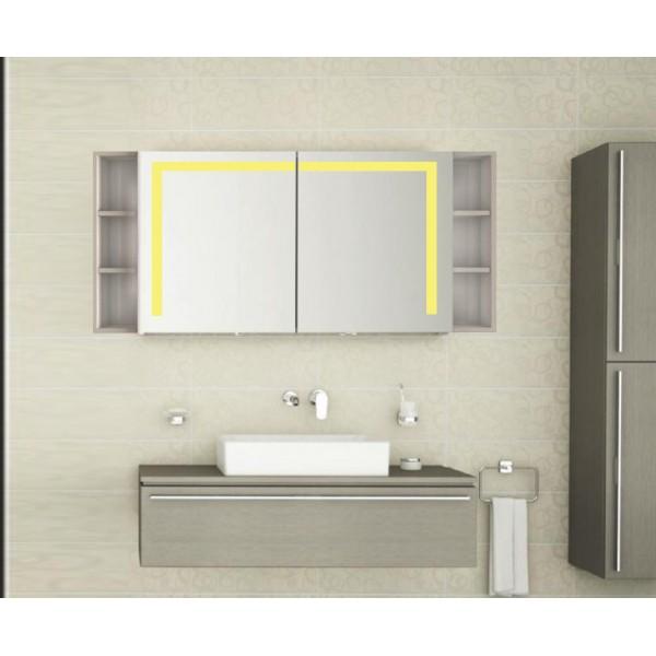 Bad Spiegelschrank mit Beleuchtung Balae BDB007