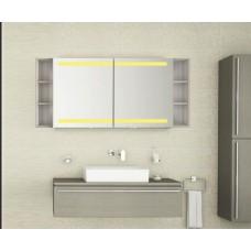 Bad Spiegelschrank mit Beleuchtung Abdei BDB008