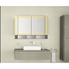 Bad Spiegelschrank mit Beleuchtung Fulee BDB012
