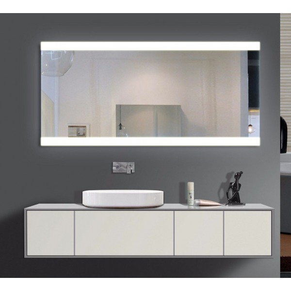 homespiegel mit led beleuchtung quffe hl003t. Black Bedroom Furniture Sets. Home Design Ideas